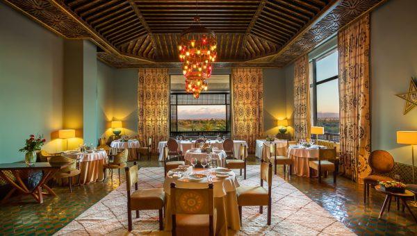 Al Aïn Restaurant hotel fairmont marrakech