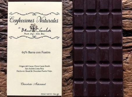 Chocolate puro desde Puerto Viejo, Costa Rica