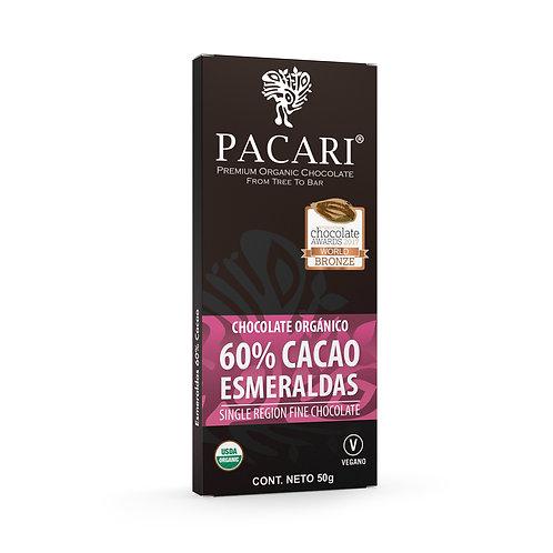 Chocolate Orgánico 60%