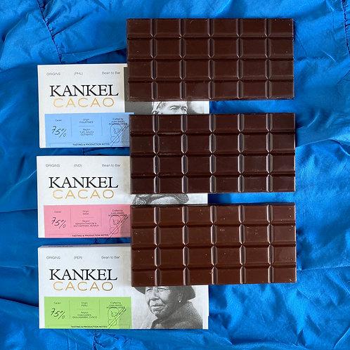 Pack Kankel Cacao 75%