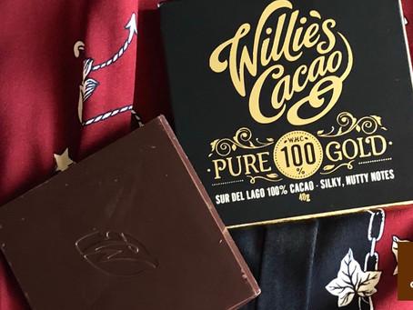 Chocolate venezolano en estado puro