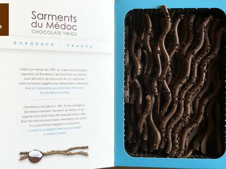 El chocolate hecho ramas