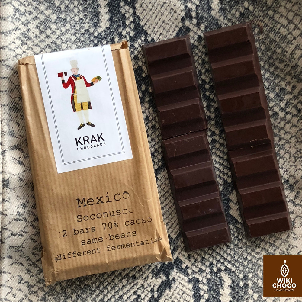 krak chocolade mexicano 70 % cacao