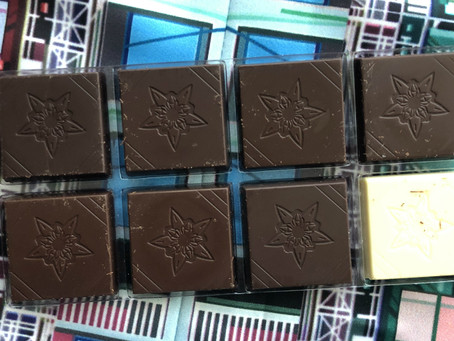 Ocho chocolates únicos