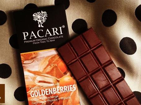El Chocolate ecuatoriano con uvilla dorada