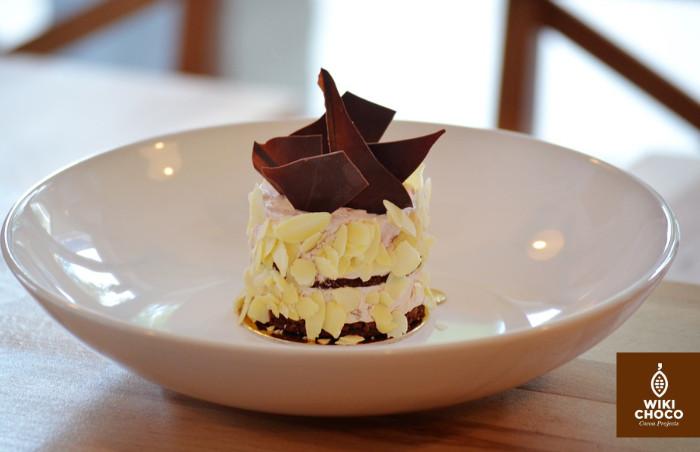 pastel de tarta selva negra