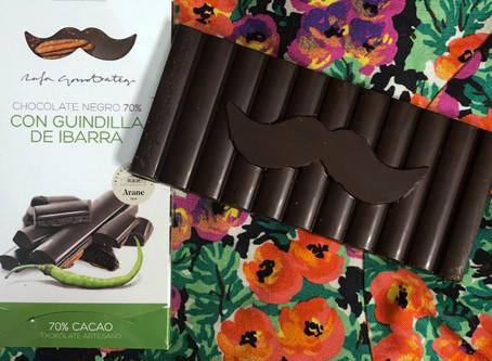 Chocolate negro con guindillas Ibarra