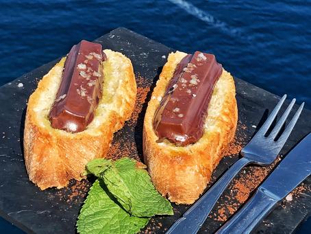 Pan, aceite, sal y Chocolate, ¿la merienda perfecta?