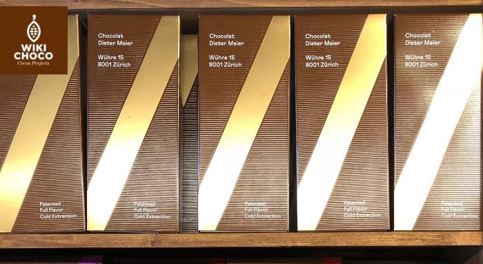 tabletas de chocolate de la marca oro de cacao
