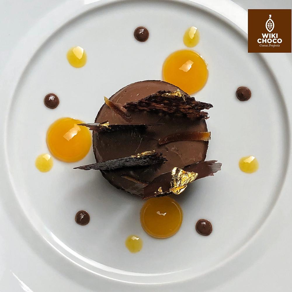 postre de chocolate wikichoco