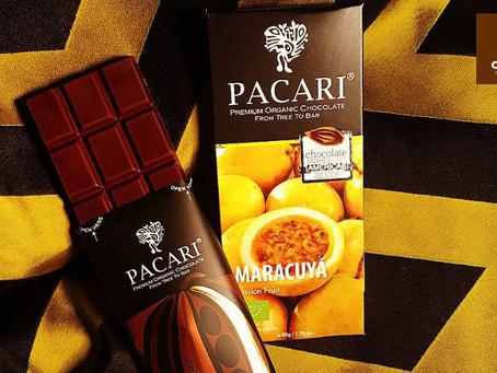 El Chocolate ecuatoriano con maracuyá de Pacari