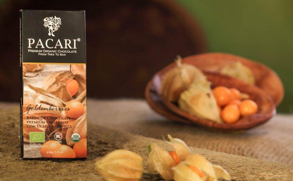 Pacari con goldeberries Chocolate orgánico