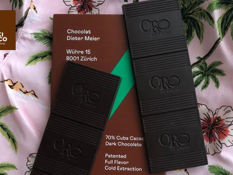 Un Cacao oscuro cubano