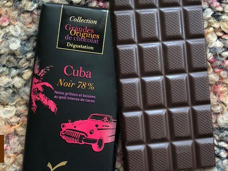 El intenso sabor cubano en una tableta de Chocolate