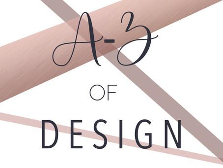 A-Z of Design