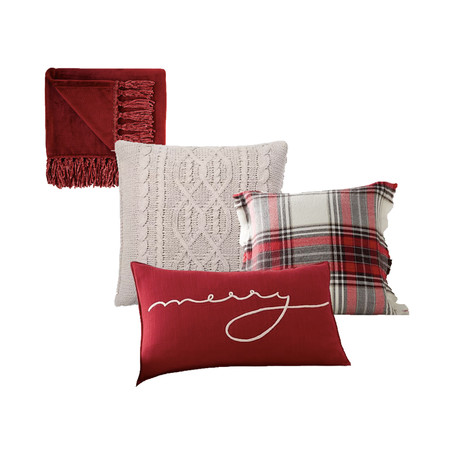 Christmas Series: Pillows and Throws!