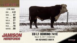 CO L1 DOMINO 741E