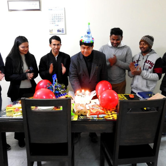 Birthday Celebrations of Prof. Abir De Sarkar