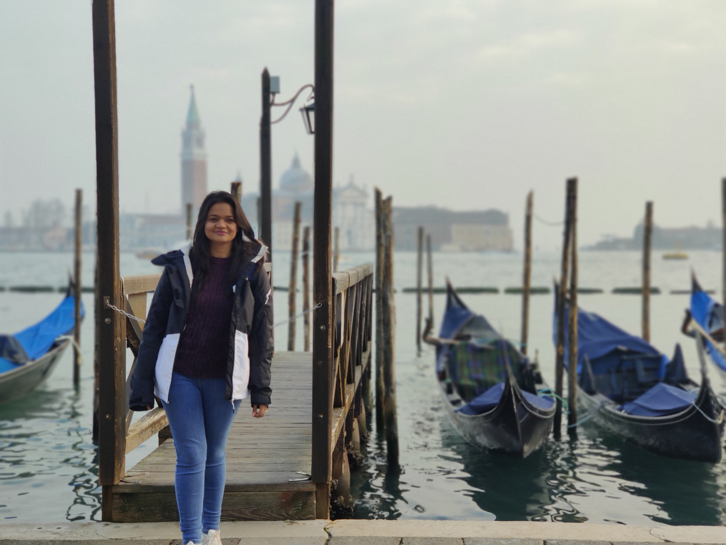 Ms. Ashima, SRF from Prof. Abir De Sarkar's Research Group, in Italy for a conference