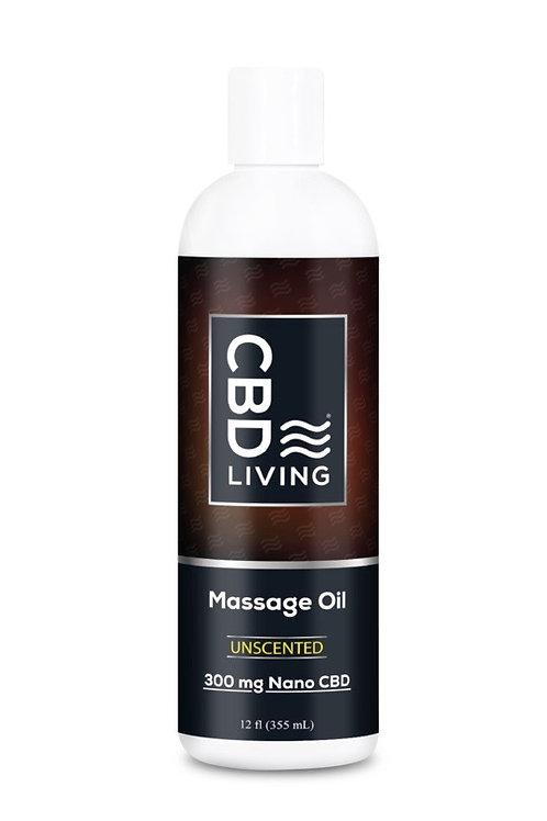 CBD Message & Body Oil 300mg