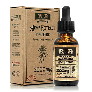 Tincture 2500mg - Peppermint