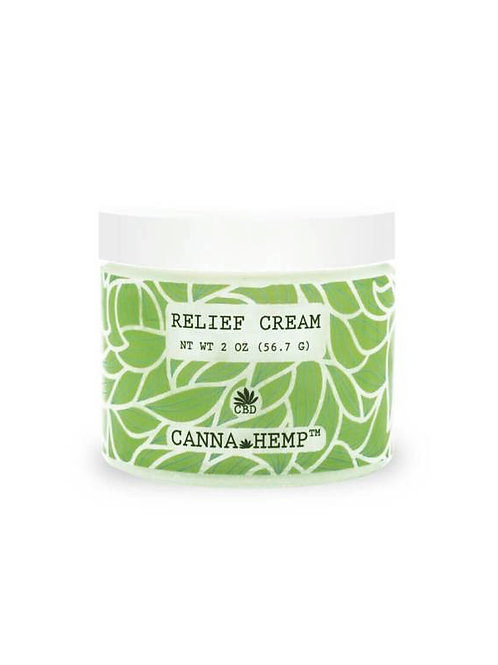 CANNA HEMP CBD Relief Cream