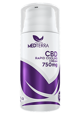 CBD TOPICAL COOLING CREAM 750mg