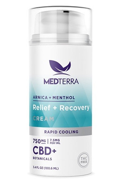 RELIEF + RECOVERY CREAM 750mg