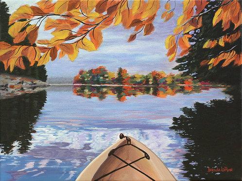 Fall Kayak Reflections