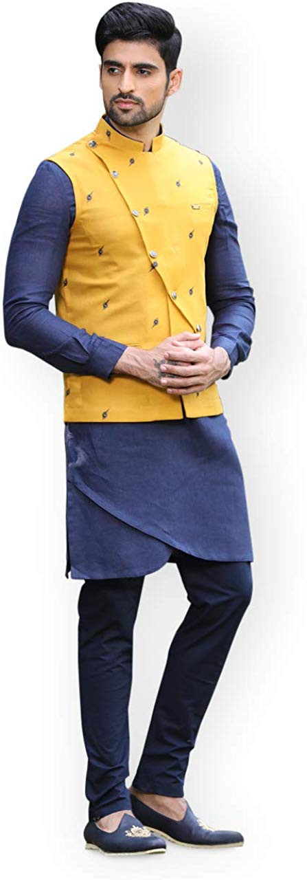 KURTA & JACKET SET – MANYAVAR