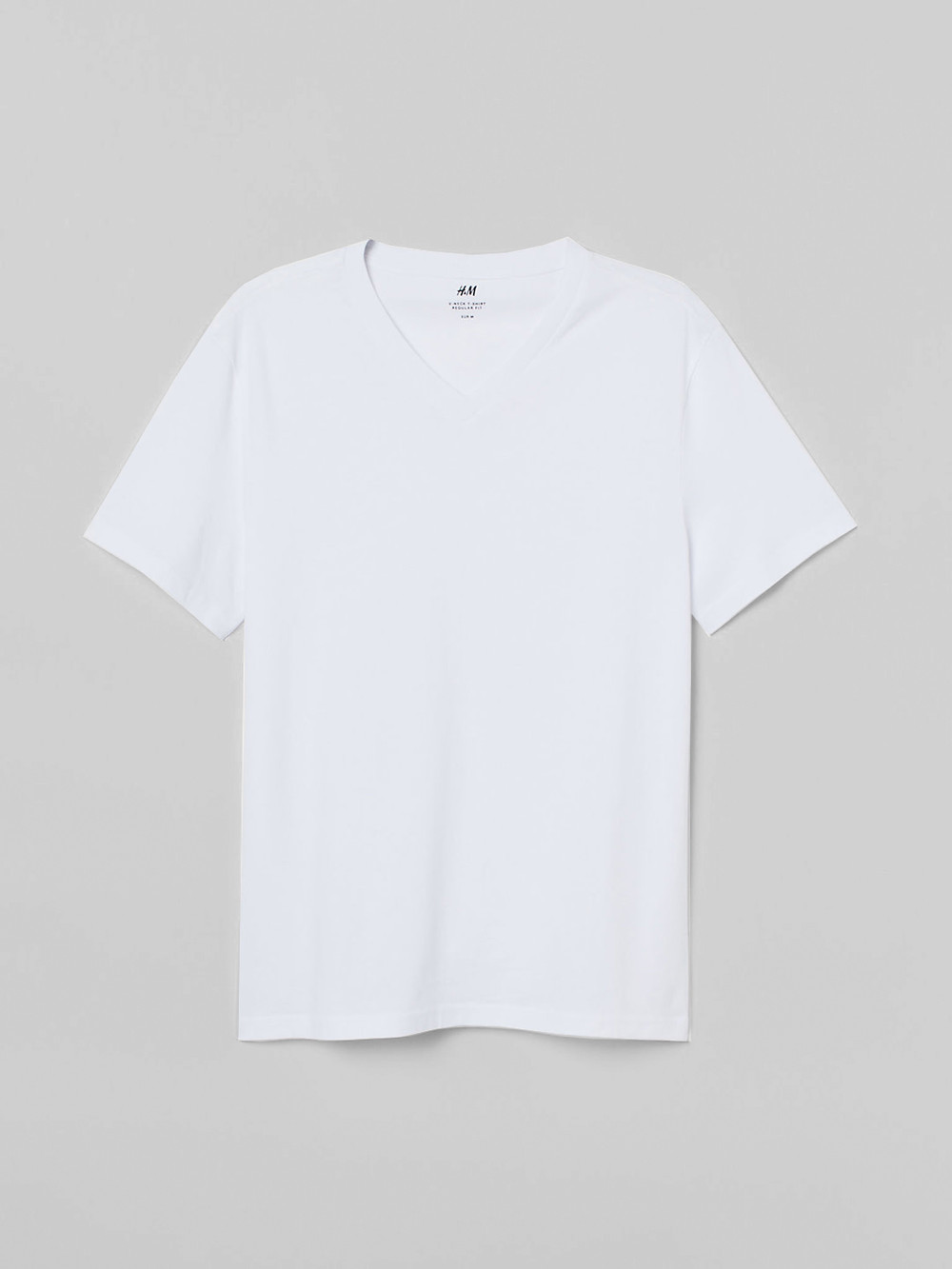 Basic round neck t-shirt – H&M