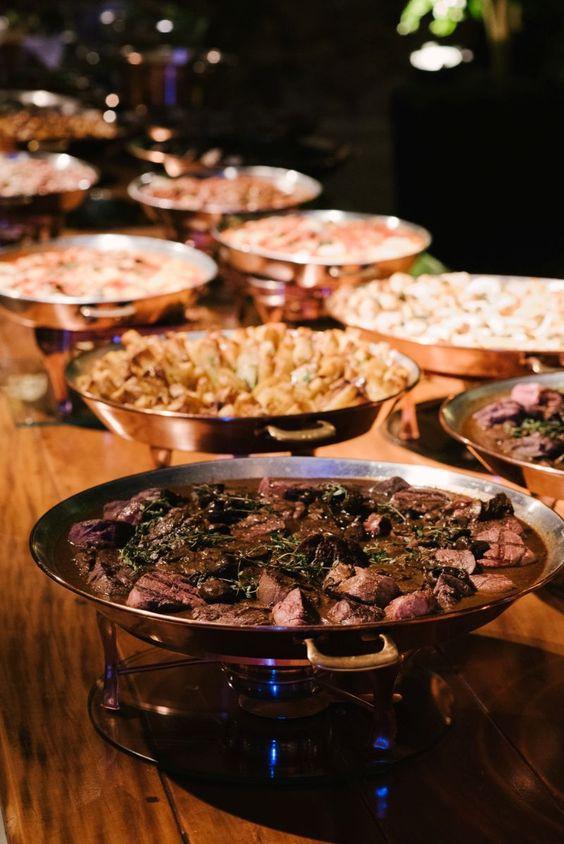Indian food during weddings