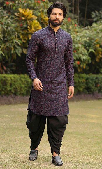 Indian Man in a Kurta Look