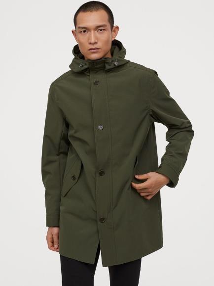 Olive Parka Jacket