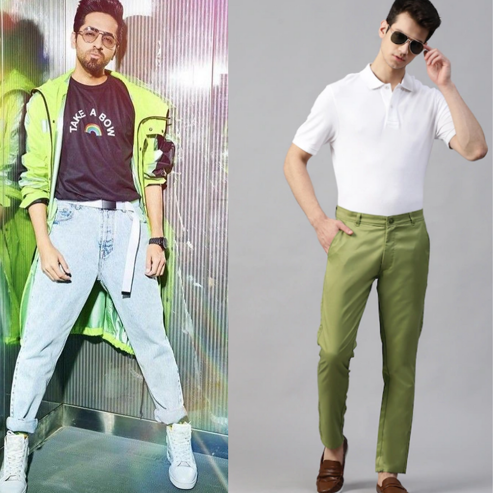 Ayushmann Khurrana in Neon Green Jacket