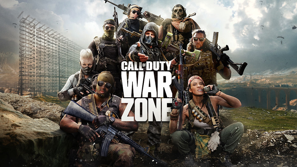 Call of Duty War Zone Video Games