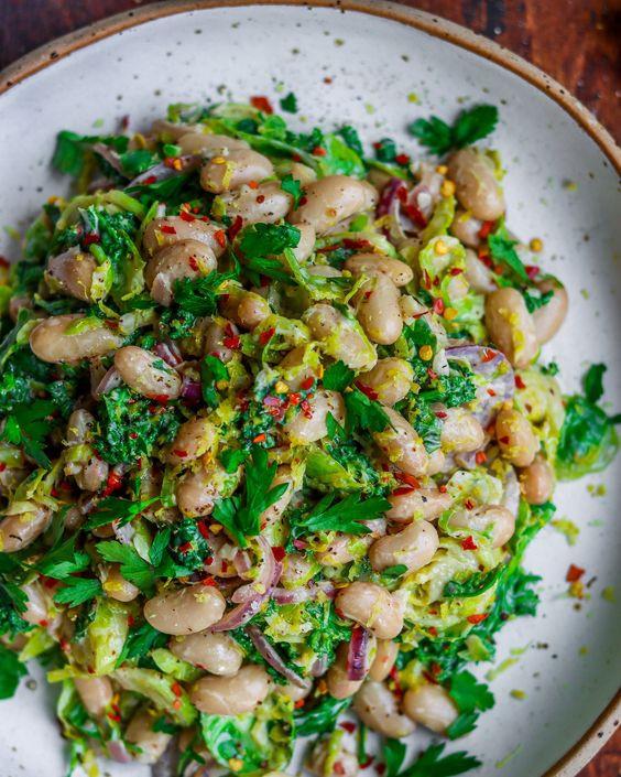 Bean Sprouts & Capsicum Salad