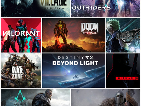 Top 10 Video Games To Play In Lockdown 2.0
