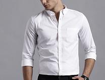 Men White Regular Fit Casual Shirt