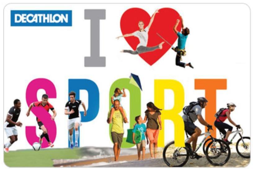 Decathlon  Sports E-card