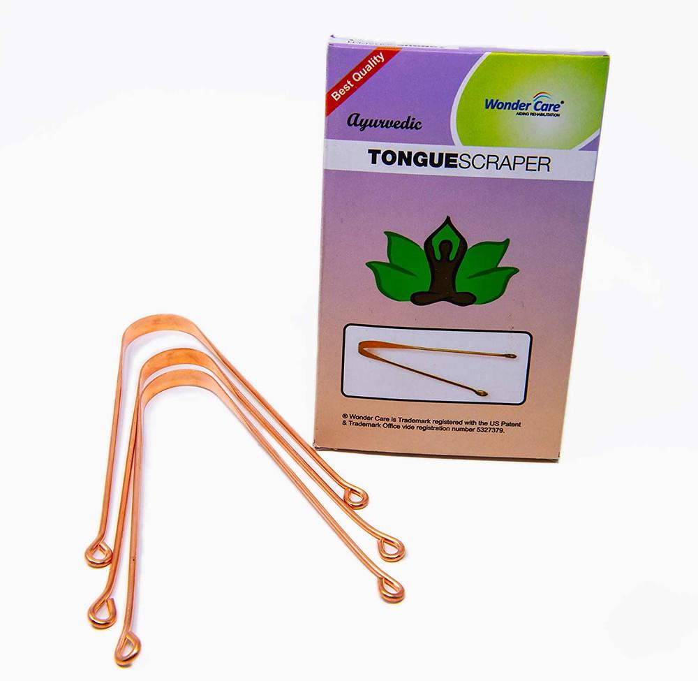 Wonder Care Copper Tongue Scraper