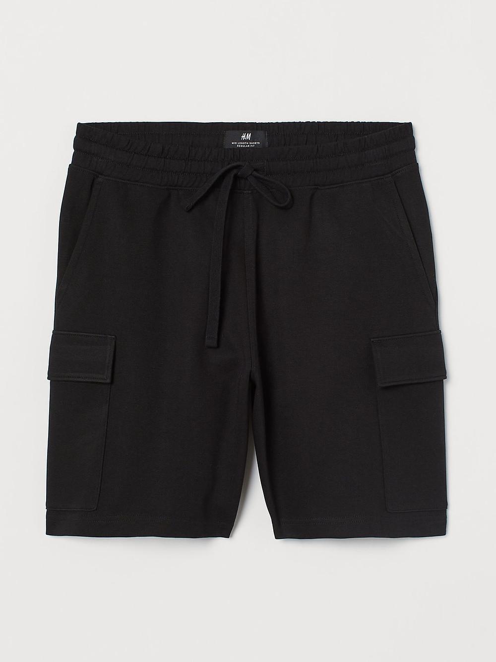 Black Cargo Shorts – H&M