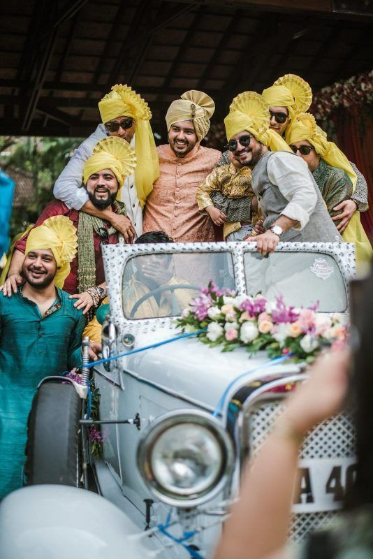 Baraat with the Groom