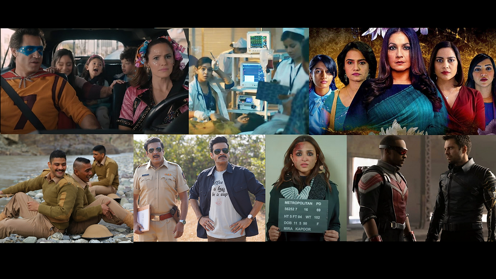 Webseries and Movies to Watch in March 2021