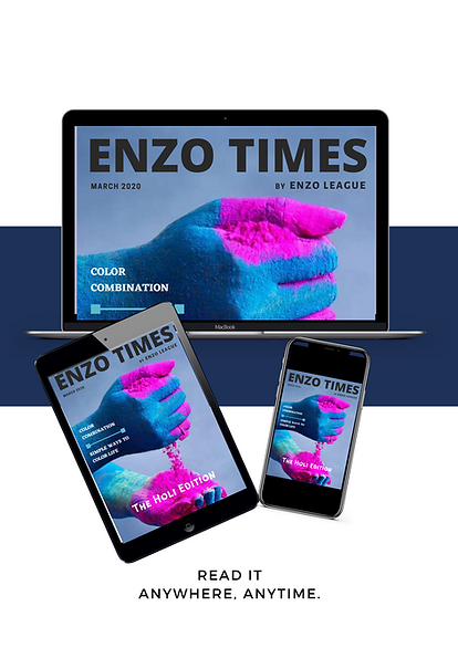 Enzo Times - Men's Style Magazine Yearly Subscription