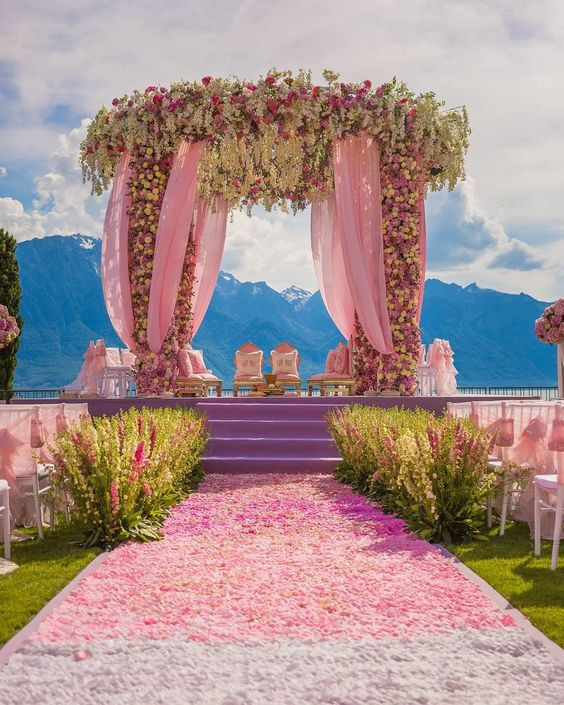 Open Air Indian Wedding