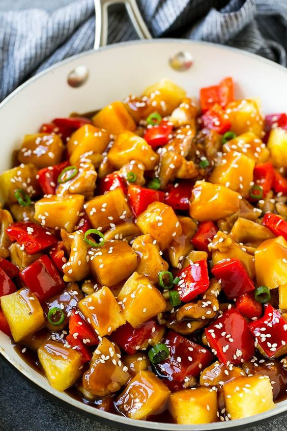 Pineapple and Vegetable Stir- Fry
