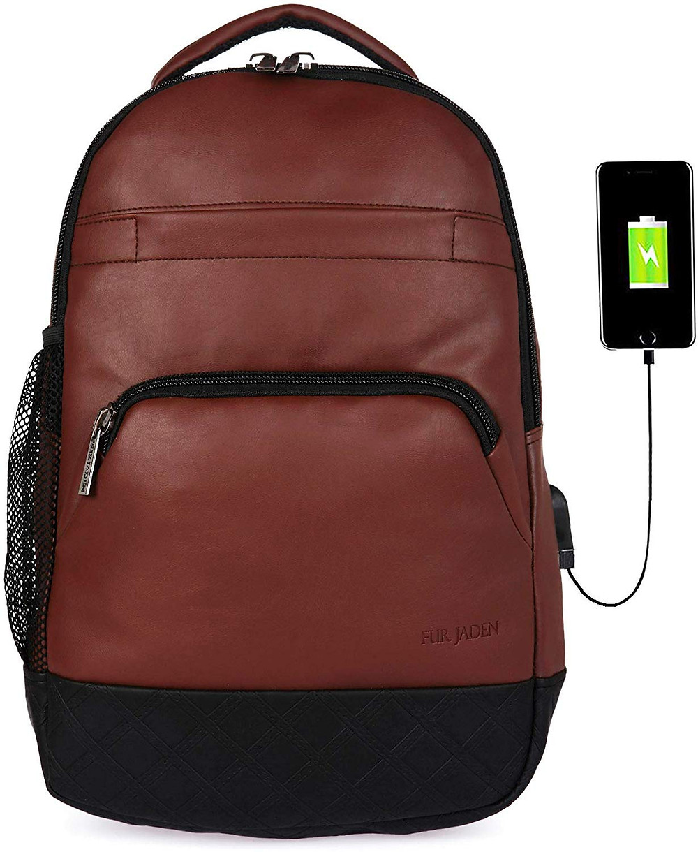 Unisex LAptop Backpack with USB Charger