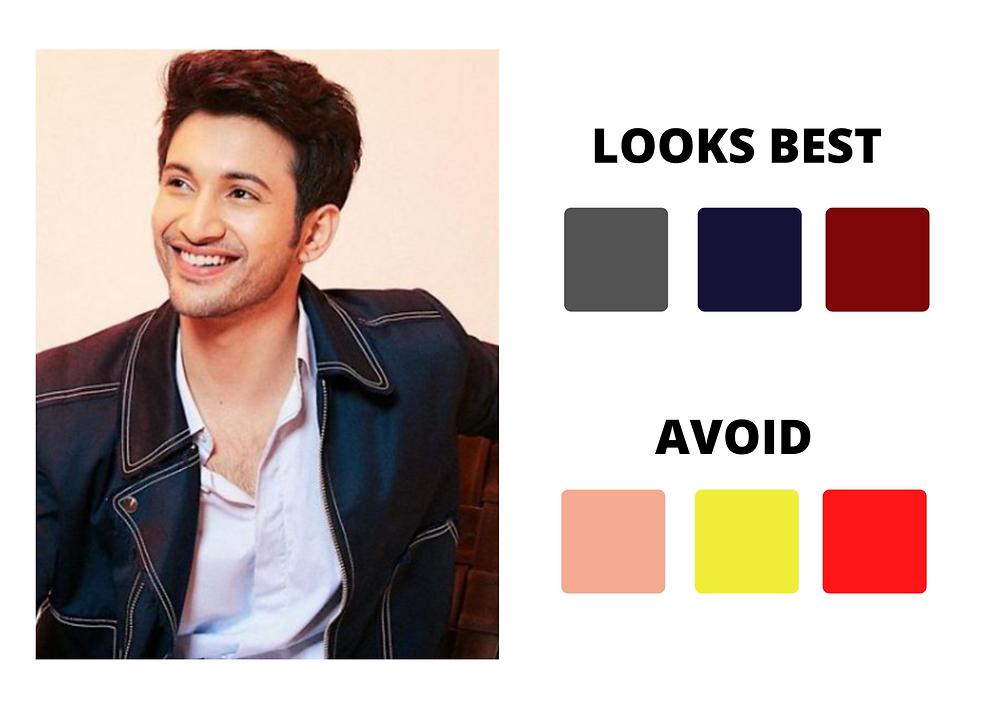 Rohit's Saraf Skin Tone  Analysis