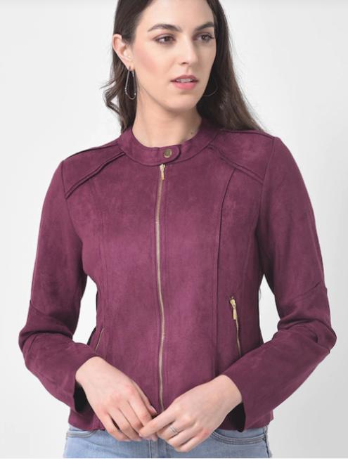 Women's Purple Jacket